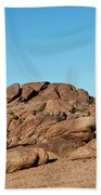 Tumbling Rocks Of Gold Butte Beach Towel