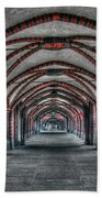 Tunnel With Arches Beach Towel