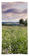 Tuscany Flowers Beach Sheet
