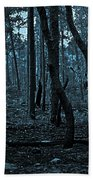 Twilight In The Smouldering Forest Beach Towel