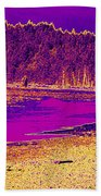Twilight On La Push Beach Beach Towel