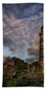 Twilight Painter Beach Towel