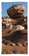 Twin Rocks Capitol Reef Np Beach Towel