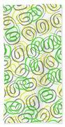 Twirls Beach Towel