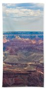 Two Crows Watch Over The Canyon Beach Towel