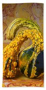Two Gourds Beach Towel