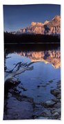 Two Jack Lake Banff Canada Beach Towel