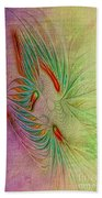 Two Tone Frac Abstract Beach Towel