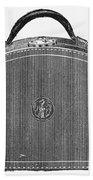Typewriter Case, 1889 Beach Towel