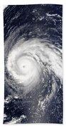 Typhoon Higos Beach Towel