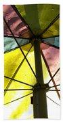 Under The Umbrella Beach Towel