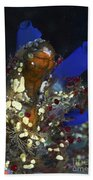Underwater Bouquet Formed By Cluster Beach Towel