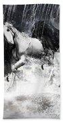 Unicorn's Complexities Beach Towel by Lourry Legarde