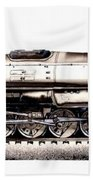 Union Pacific 4-8-8-4 Steam Engine Big Boy 4005 Beach Towel