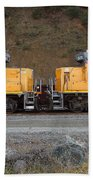 Union Pacific Locomotive Trains . 7d10573 Beach Sheet