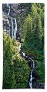 Unnamed Waterfall Beach Towel