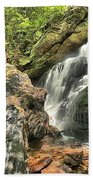Upper Cascade Hidden Falls Beach Towel
