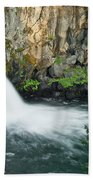Upper Mccloud Falls Beach Towel