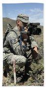 U.s. Air Force Sergeant Shoots Video Beach Towel
