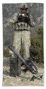 U.s. Army Soldier Gets Information Beach Towel