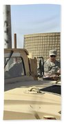 U.s. Army Soldiers Take Accountability Beach Towel