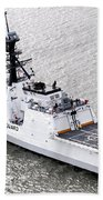 U.s. Coast Guard Cutter Stratton Beach Towel