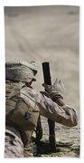 U.s. Marine Clears A Pk General-purpose Beach Sheet