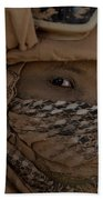 U.s. Marine Covered In Dirt Beach Towel