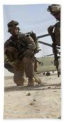 U.s. Marines Unloading Beach Towel