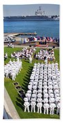 U.s. Navy Sailors Attend An Beach Towel