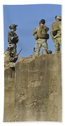 U.s. Special Operations Soldiers Beach Towel
