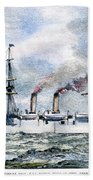 Uss Boston, 1890 Beach Towel