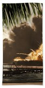 U S S Shaw Pearl Harbor December 7 1941 Beach Towel
