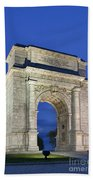 Valley Forge Memorial Arch Beach Towel