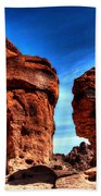 Valley Of Fire Monuments Beach Towel