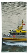 Vancouver Harbour Pilot Beach Towel