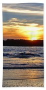 Vancouver Island Sunset Beach Towel
