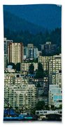 Vancouver Rooms With A View Beach Towel