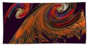 Variegated Abstract Beach Towel