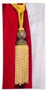 Velvet Curtain Beach Towel