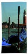 Venetian Gandola Beach Towel