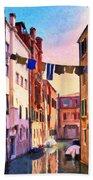 Venice Alleyway Beach Towel