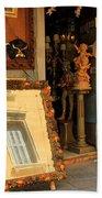 Venice Antique Shop Beach Towel