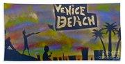 Venice Beach Life Beach Towel