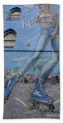 Venice Beach Wall Art 9 Beach Towel