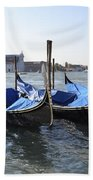 Venice Gondolas Beach Sheet