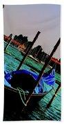 Venice In Color Beach Towel