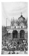 Venice: Saint Marks, 1797 Beach Towel