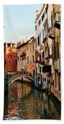 Venice Waterway Beach Towel