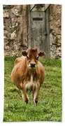 Vernon County Cow Beach Towel